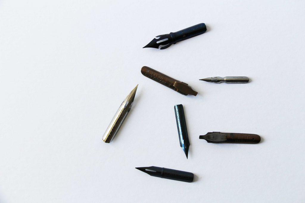 calligraphique - plume