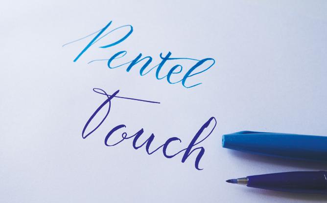 Feutres brush lettering - calligraphique