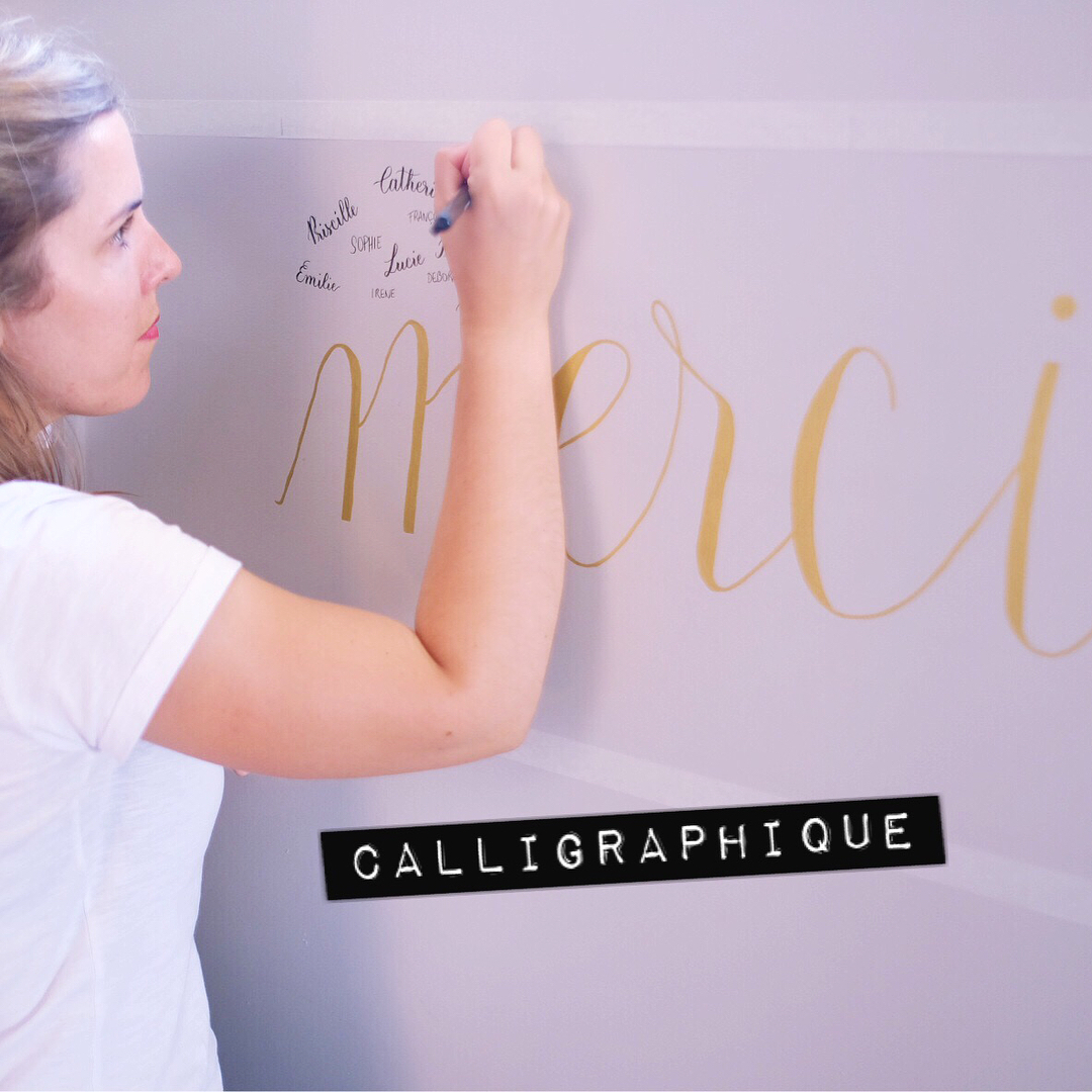 Calligraphique - Deedee Paris