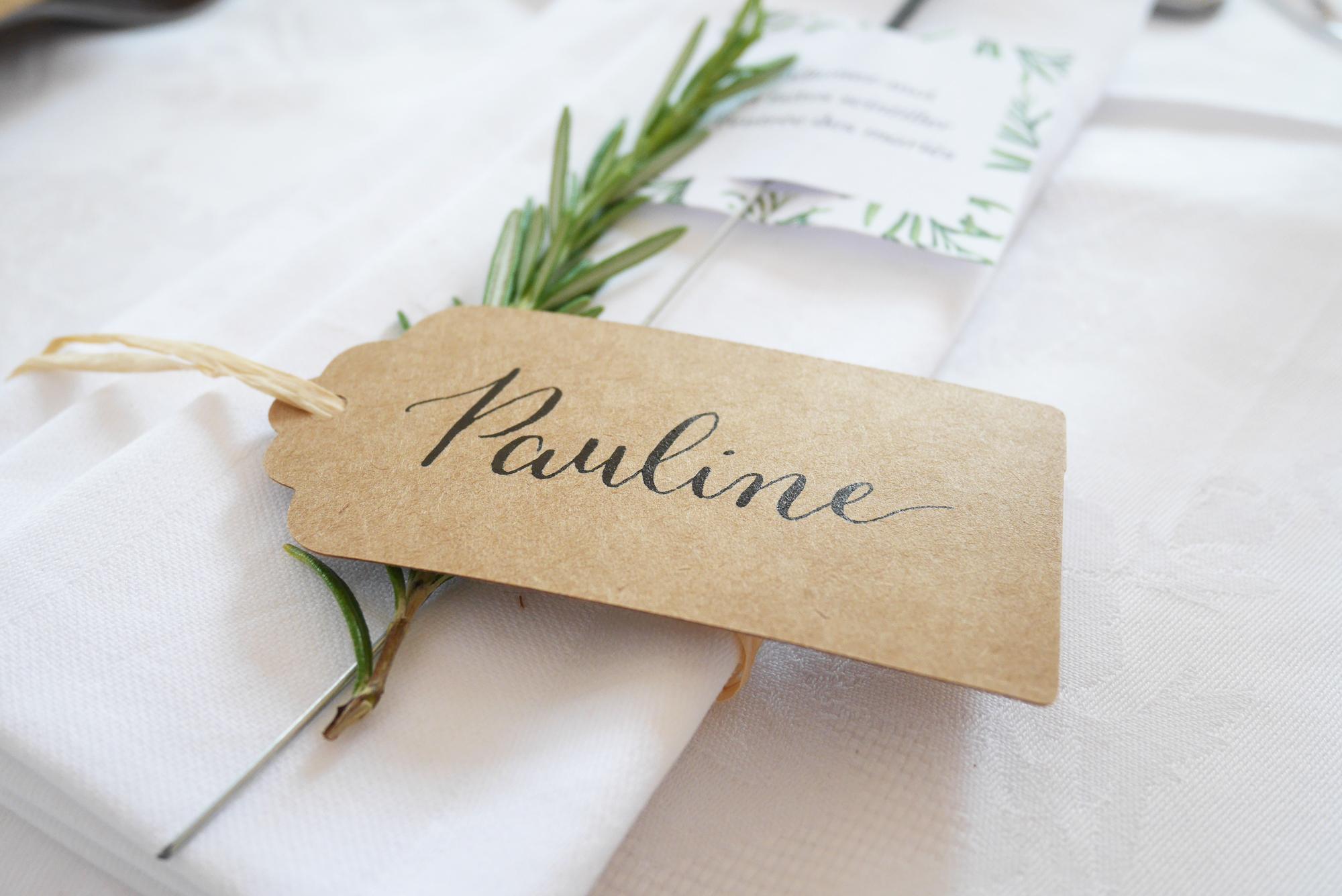 Calligraphie mariage – Calligraphique