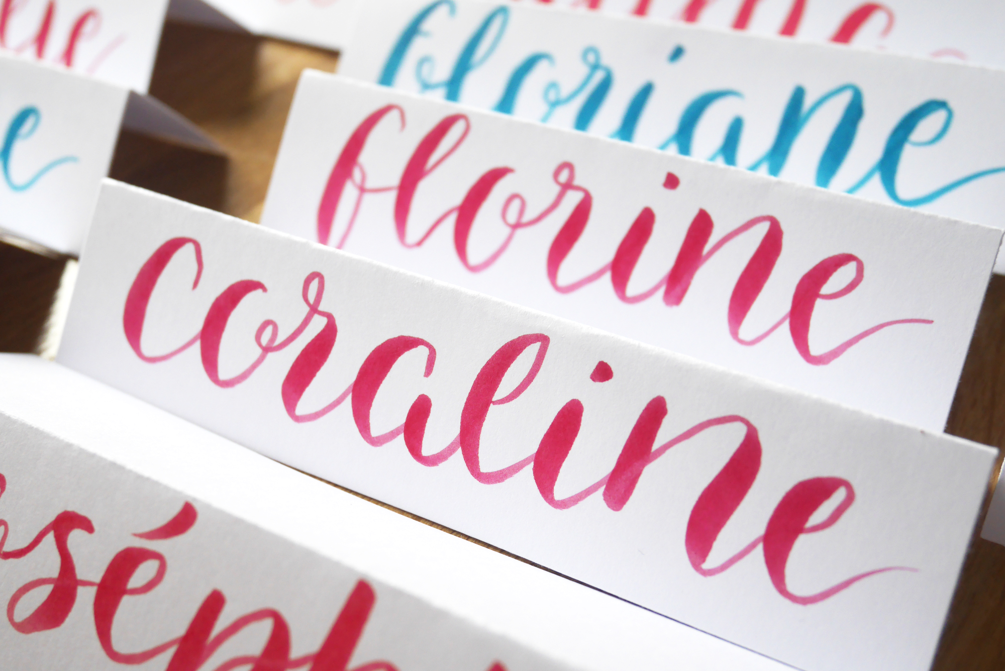 Atelier découverte brush lettering Carrefour
