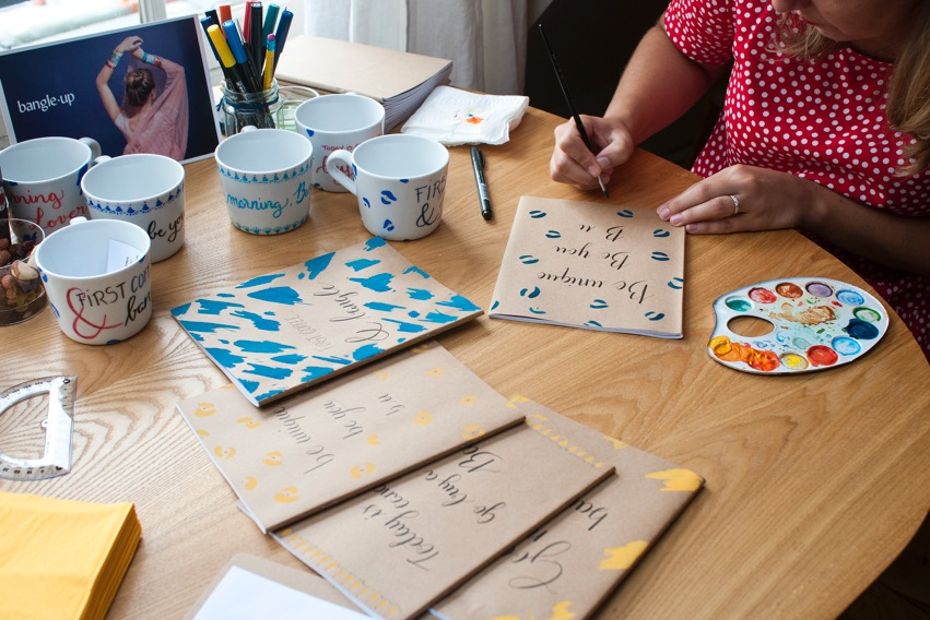 Personnalisation calligraphie Bangle Up - Calligraphique