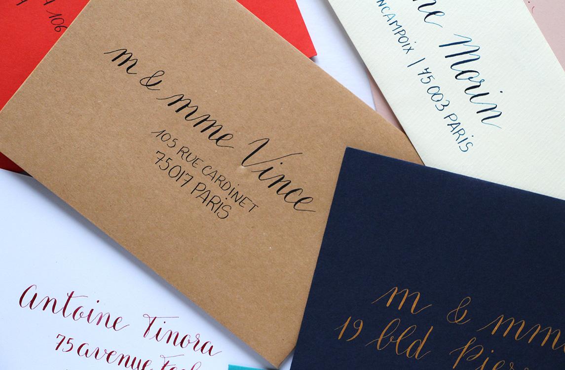service calligraphie - calligraphique