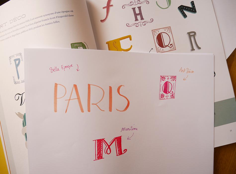 Lettrage créatif - glenat - Calligraphique
