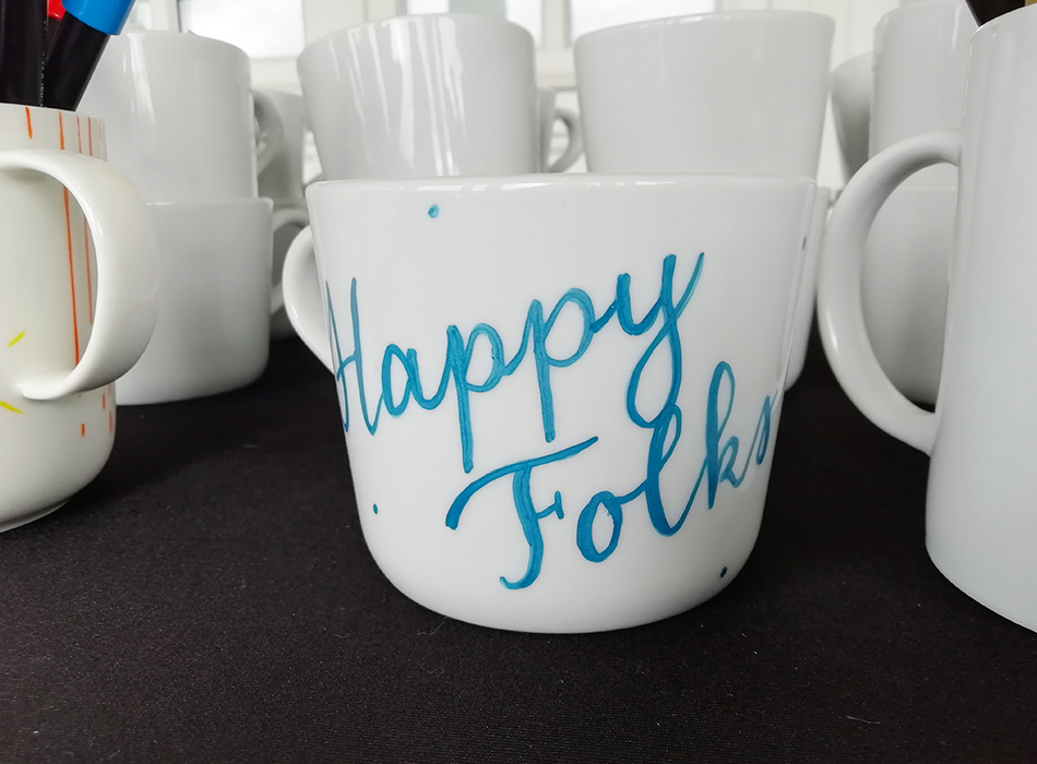 Customisation mug Club Med - Calligraphique