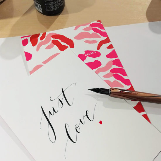 calligraphie saint valentin & other stories