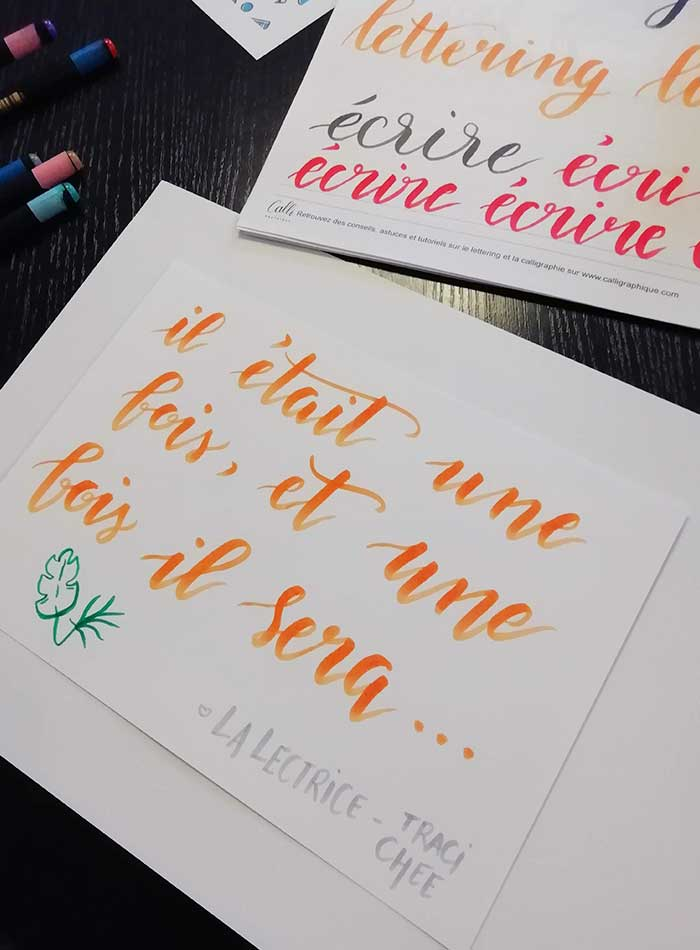 atelier initiation brush lettering calligraphique