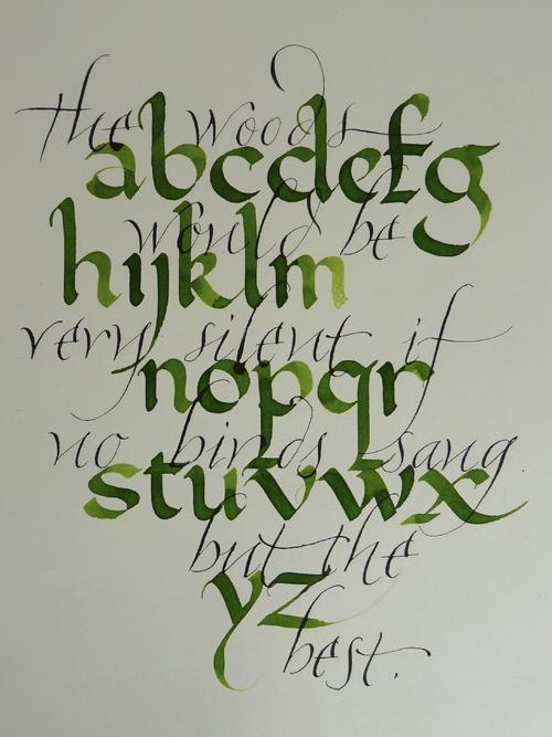 Calligraphique - Calligraphie en ligne