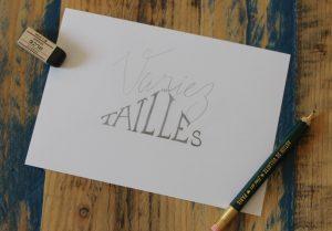 Calligraphique Lettering - Variez les tailles