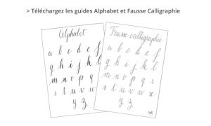 Guide PDF Fausse calligraphie - Calligraphique