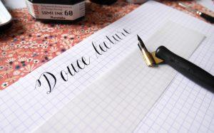 5 conseils débuter calligraphie moderne