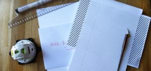 écrire calligraphie droit - calligraphique