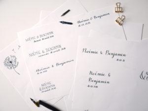 Logo de mariage - Calligraphique