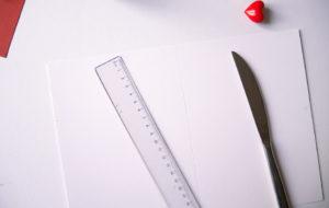 Carte saint valentin calligraphie - calligraphique