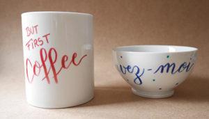 atelier-porcelaine brush lettering