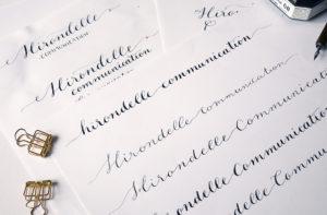 creation logo calligraphie