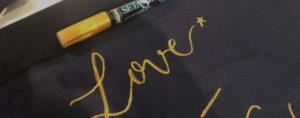 calligraphique - atelier personnalisation