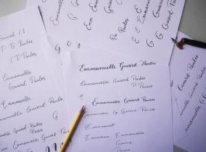 Creation logo calligraphie - calligraphique