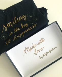 personnalisation calligraphie calligraphique