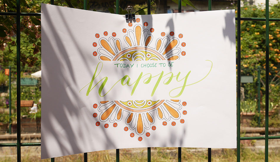 Atelier happy folk Pukka Herbs - Calligraphique