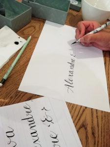 atelier plume pop the question - Calligraphique