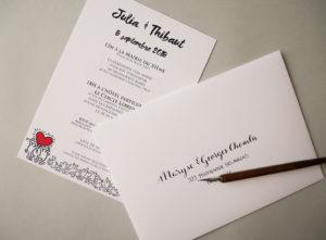 Enveloppes calligraphie superplanner - calligraphique