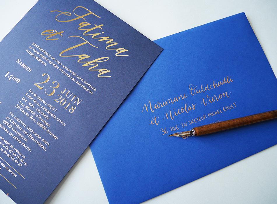 Enveloppes calligraphie superplanner – calligraphique