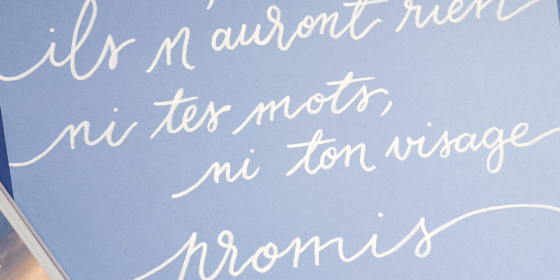 Citation calligraphie Robert Laffont