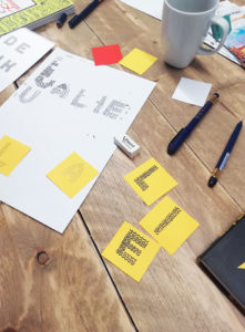 Atelier teambuilding Intersec - Calligraphique