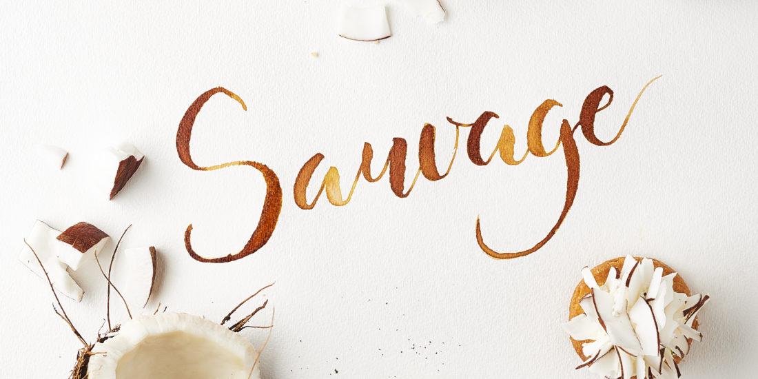 Calligraphie culinaire - calligraphique