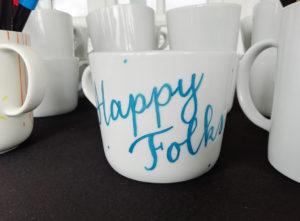 Customisation mug Club Med - Calligraphique