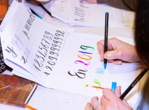 atelier géant calligraphie Levallois