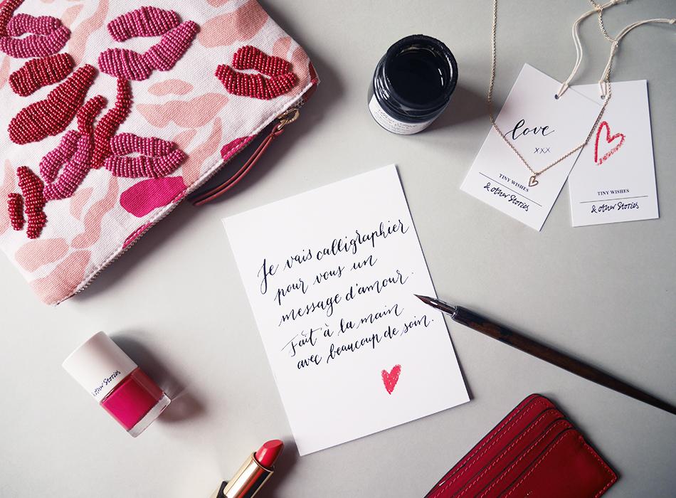 calligraphie saint valentin & other stories
