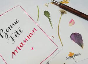 Carte fête des mères calligraphie And Other Stories