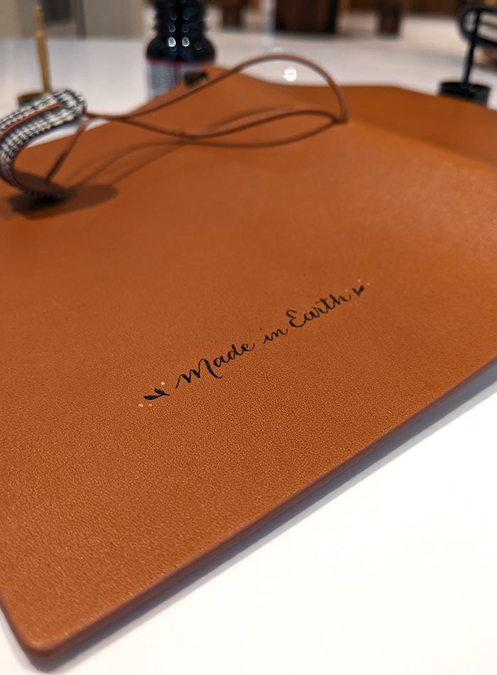 calligraphie cuir ICICLE – calligraphique